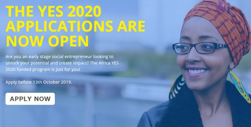 Africa Young Entrepreneur Support (YES) Program 2020 for Young Social Entrepreneurs (Up to $15,000 in Funding)
