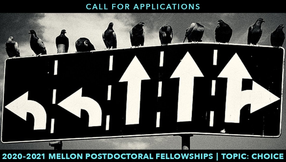 Andrew W. Mellon Postdoctoral Fellowship 2020-2021 in the Humanities at the University of Pennsylvania (Stipend of $57,900)