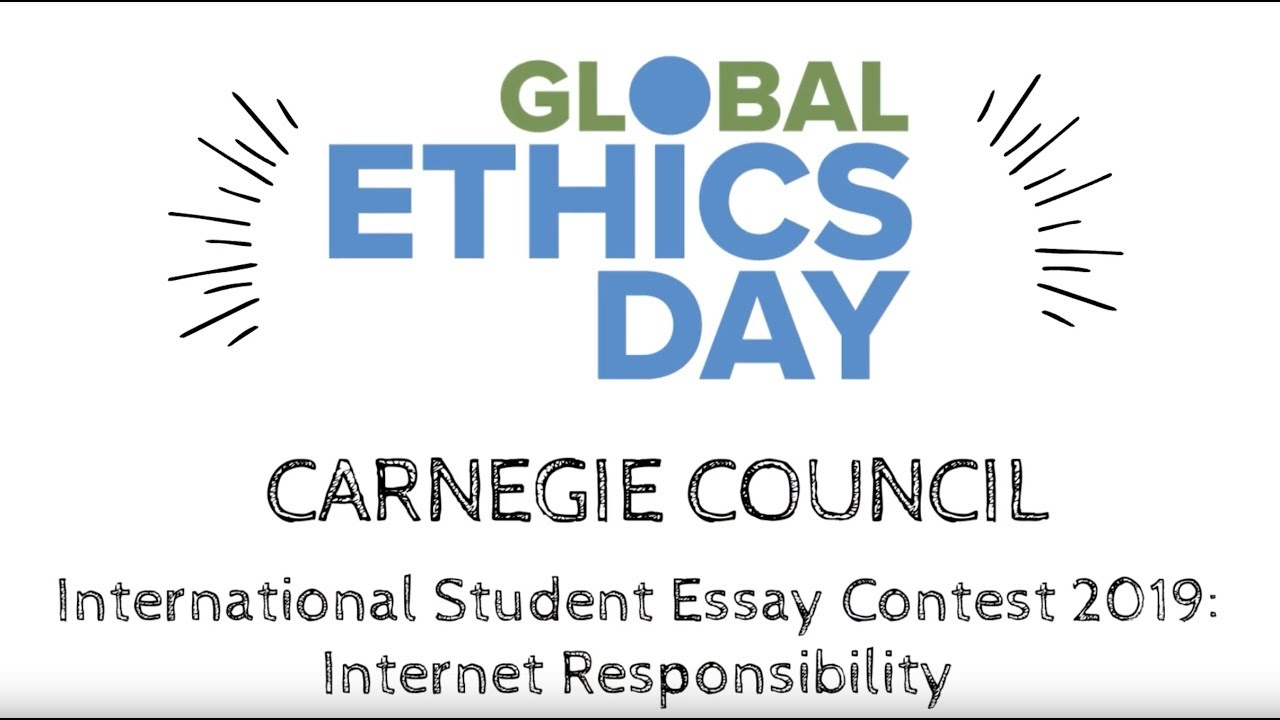 Carnegie Council International Student Essay Contest 2019
