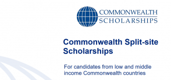 Commonwealth Split-site PhD Scholarships 2020 for Low and Middle Income countries (Fully-funded)