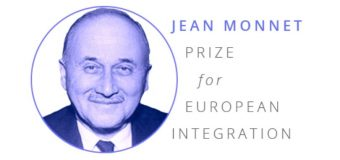 Jean Monnet Prize for European Integration 2019 (€1,500 grant)