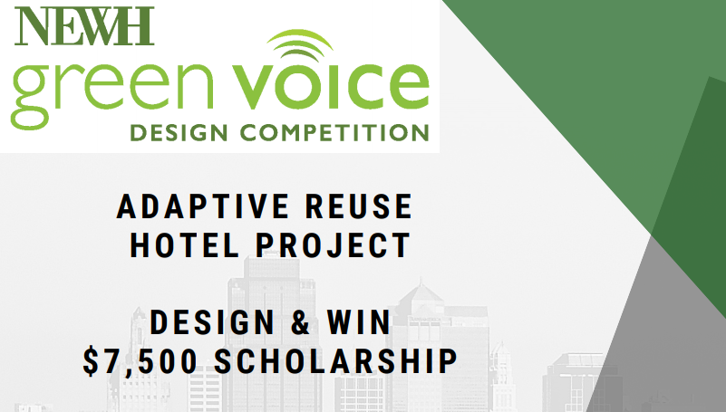 NEWH Green Voice Design Competition 2019/2020 (Scholarship of $7,500)