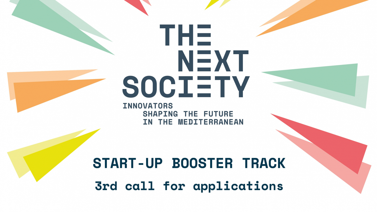 NEXT SOCIETY Start-up Booster Track 2019/2020 for Entrepreneurs in the MENA region