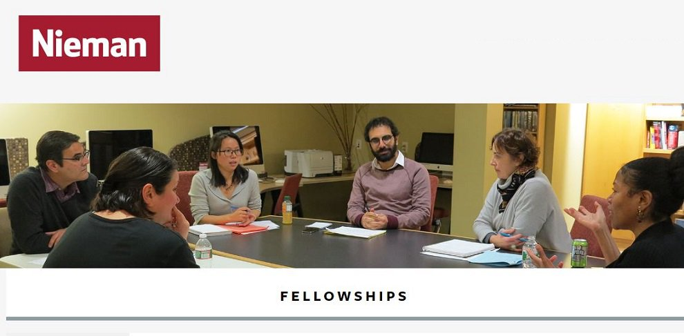 Nieman-Berkman Klein Fellowship in Journalism Innovation 2020-2021 at Harvard University (stipend of $75,000)
