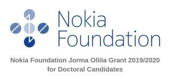Nokia Foundation Jorma Ollila Grant 2019/2020 for Recent PhD Graduates (Up to €20,000)