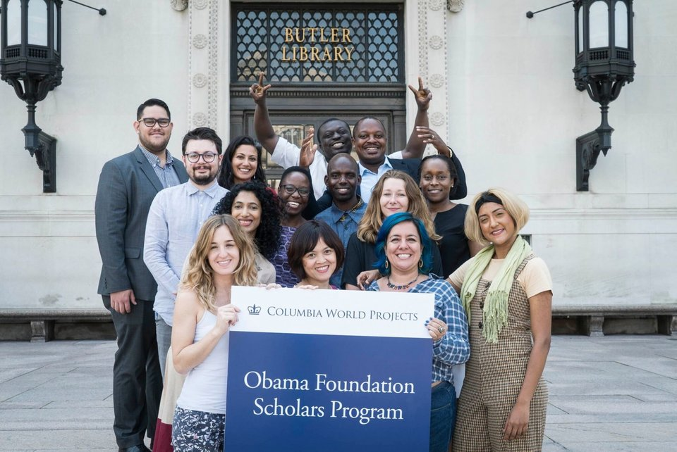 Obama Foundation Scholars Program 2020-2021 at Columbia University (Fully-funded)