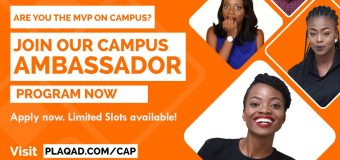 Plaqad Campus Ambassador Program 2019 for Nigerian Undergraduate students (up to N150,000)
