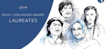 Right Livelihood Award 2020 for Outstanding Activists
