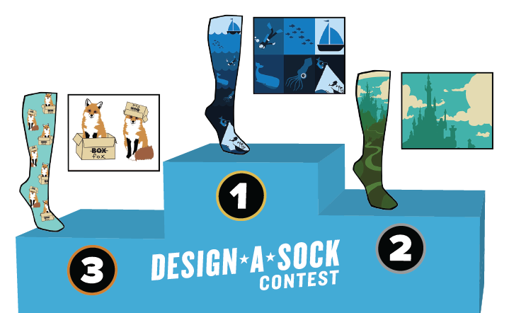 Sock It to Me Design-a-Sock Contest 2019 (Prizes up to $2,000)