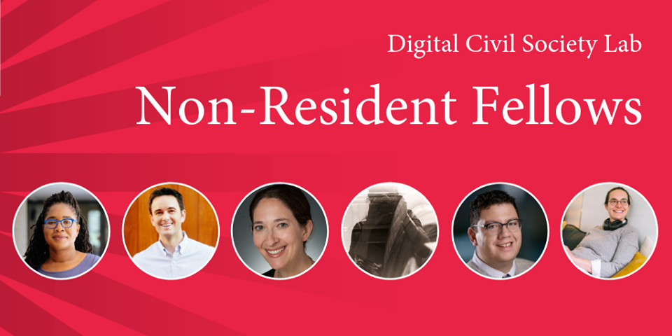 Stanford PACS Digital Civil Society Lab Non-Residential Fellowship 2020 ($20,000 stipend)