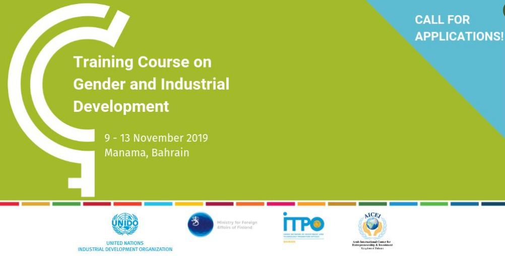 UNIDO Training Course on Gender and Industrial Development