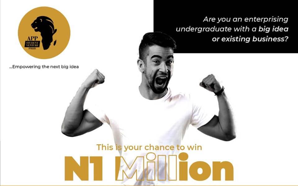 APP Student Venture Prize 2019 for Nigerian Students (Win up to N1million and a trip to Calabar)