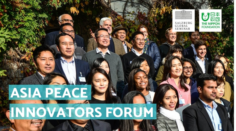 Salzburg Global Seminar – Asia Peace Innovators Forum 2020 for Mid-career Professionals (Fully-funded to Austria)