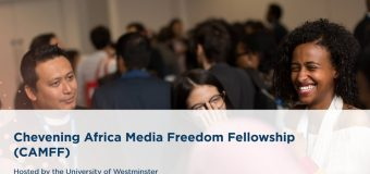 Chevening Africa Media Freedom Fellowship (CAMFF) 2020 (Fully-funded to the UK)