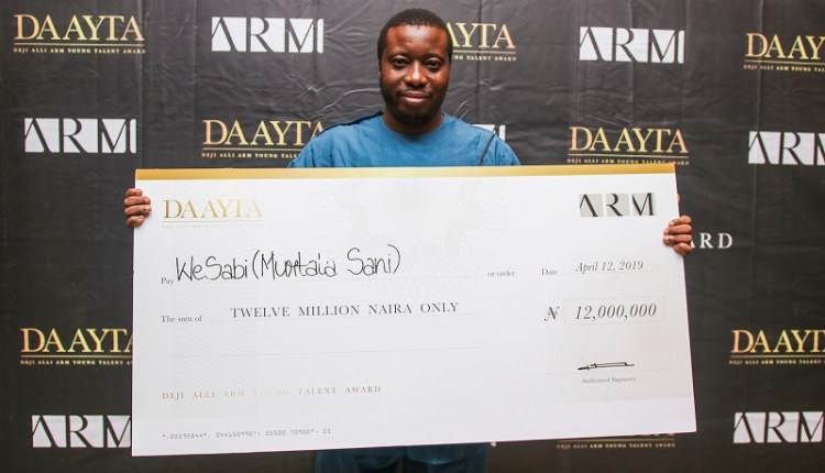 Deji Alli ARM Young Talent Award 2020 for Young Nigerians (funding up to N12,000,000)
