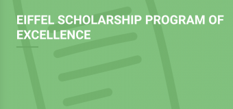 Eiffel Scholarship Program of Excellence 2020 for Masters & PhD Study in France (Funded)
