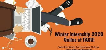 Fatima Al-Fihri Open University (FAOU) Winter Internship 2020