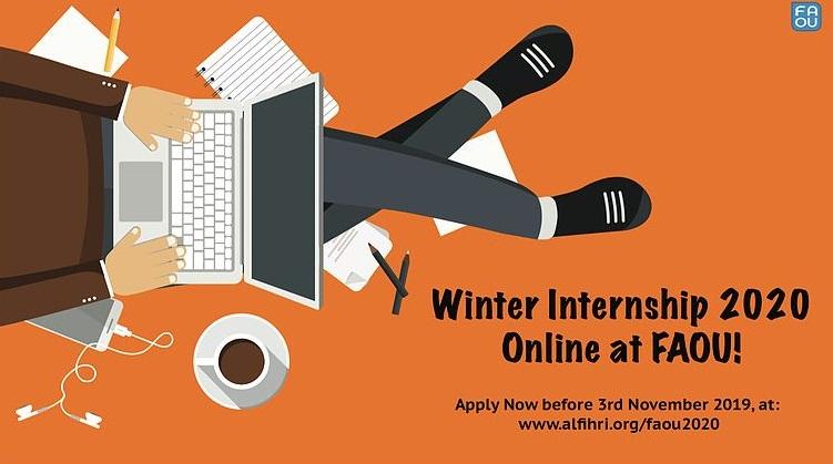 Fatima Al-Fihri Open University (FAOU) Winter Internship 2020