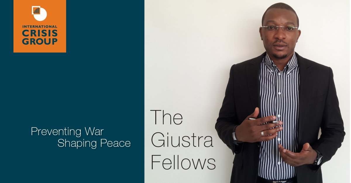 International Crisis Group Giustra Fellowship Program 2019