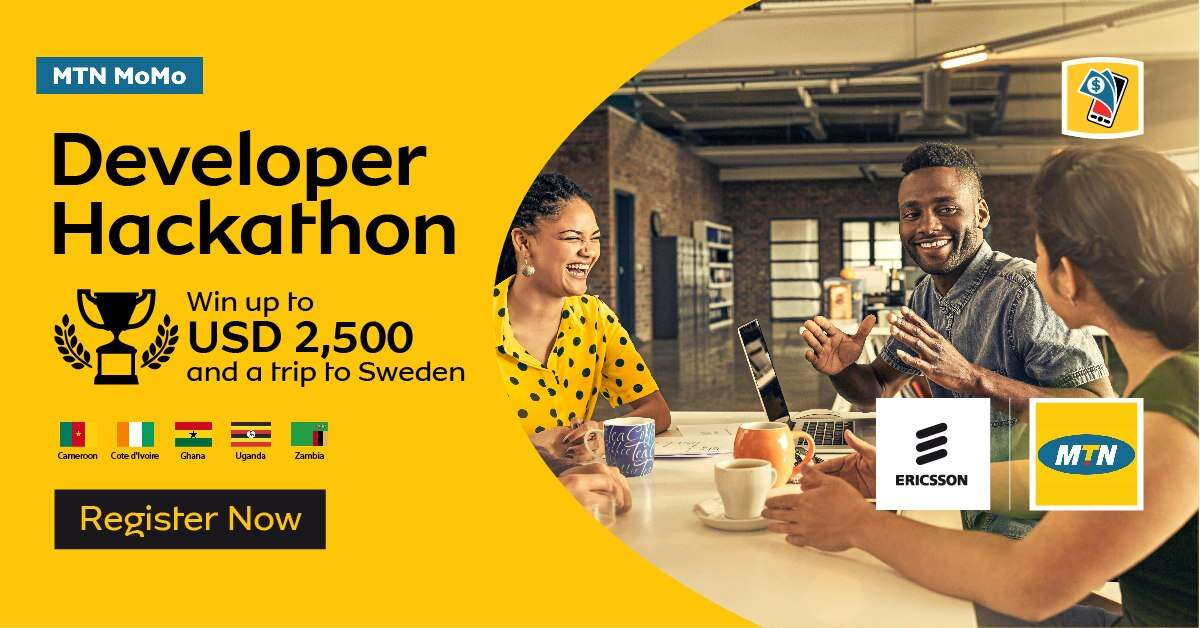 MTN MoMo Developer Online Hackathon 2019 (Win USD $2500 plus trip to Sweden)