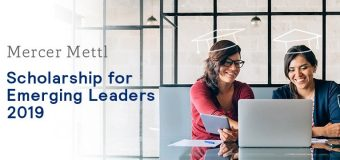 Mercer Mettl Scholarship for Emerging Leaders 2019 (worth $2,000)