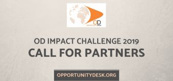 Call for Partners for Opportunity Desk – OD Impact Challenge 2019!