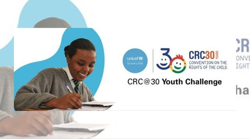 UNICEF Kenya CRC@30 Youth Challenge 2019 (Fully-funded to Nairobi, Kenya)