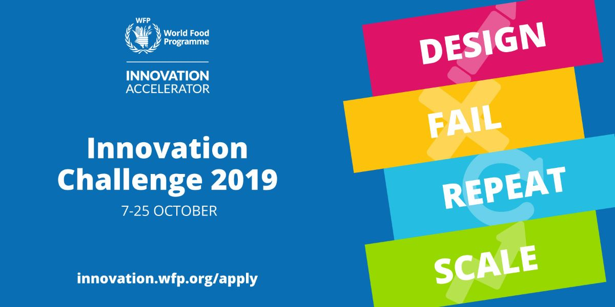 UN World Food Programme (WFP) Innovation Accelerator 2019 (Fully-funded to Germany + $100,000)