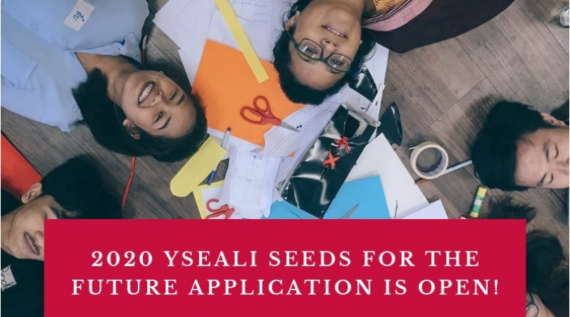 Young Southeast Asian Leaders Initiative (YSEALI) Seeds for the Future Grants Competition 2020 (up to $15,000)