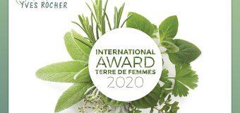 Yves Rocher Foundation Terre De Femmes International Award 2020 (€10,000 prize)