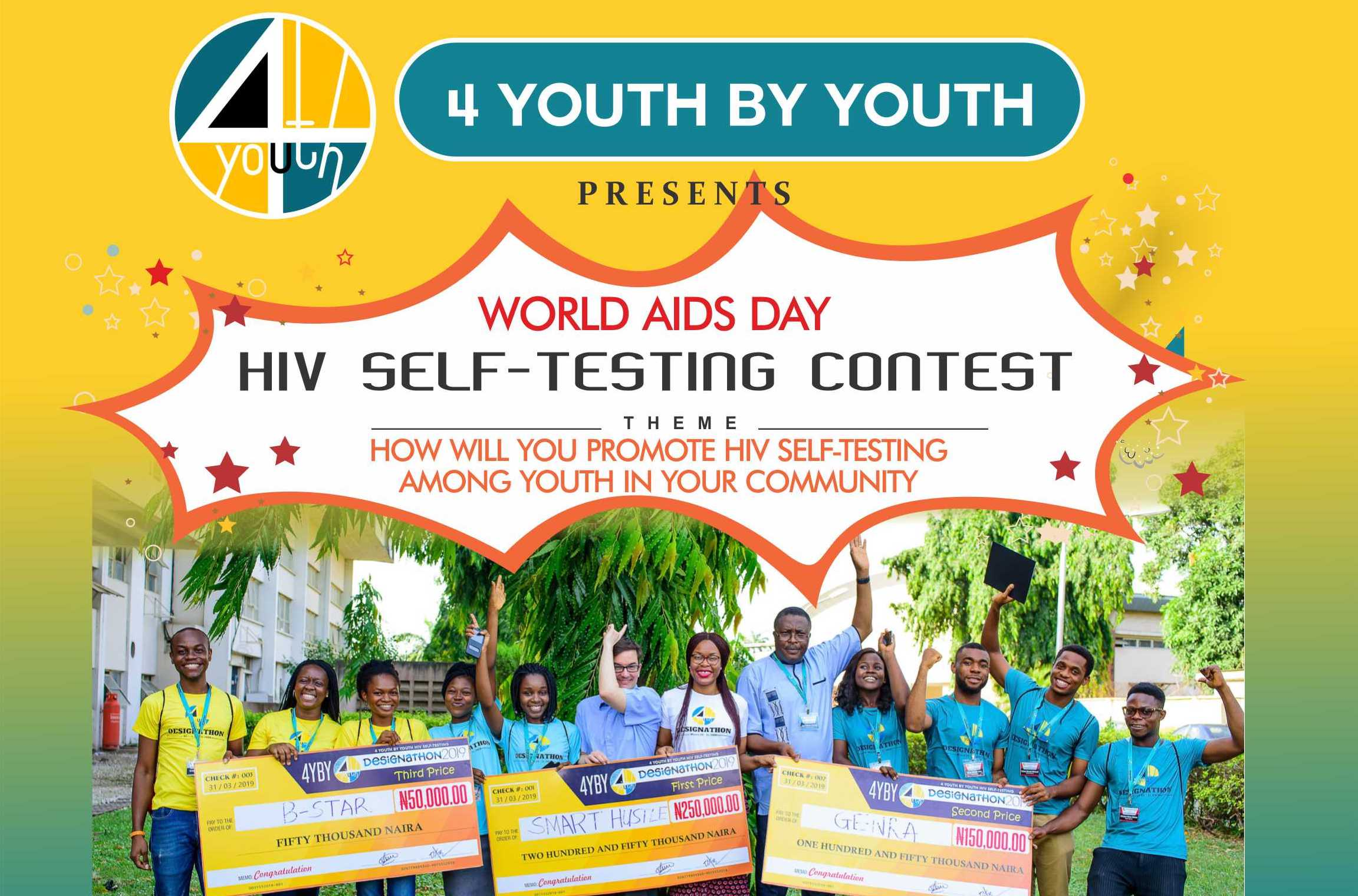 Worlds AIDS Day HIV Self-Testing Contest 2019 for Nigerians