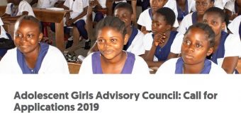 Global Fund for Women's Adolescent Girls Advisory Council 2019 Call for Applications