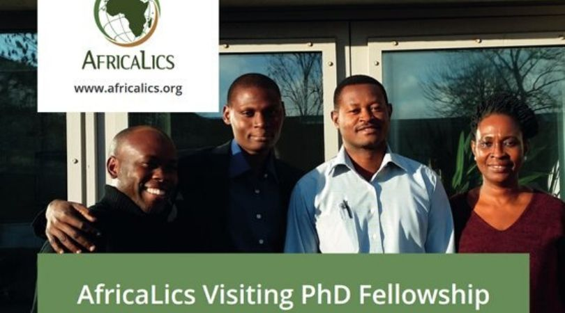 AfricaLics Visiting PhD Fellowship Programme 2020/2021