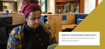 Aga Khan Foundation Canada – International Youth Fellowship 2020