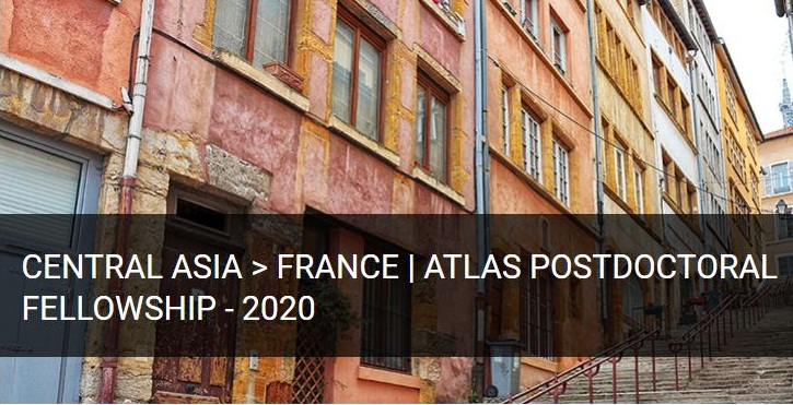 FMSH/IFEAC Atlas Postdoctoral Fellowship 2020 for Researchers from Central Asia (Stipend of €4,500)