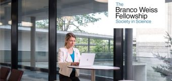 Branco Weiss Fellowship – Society in Science 2020 Postdoc Program (CHF 100,000 per year)