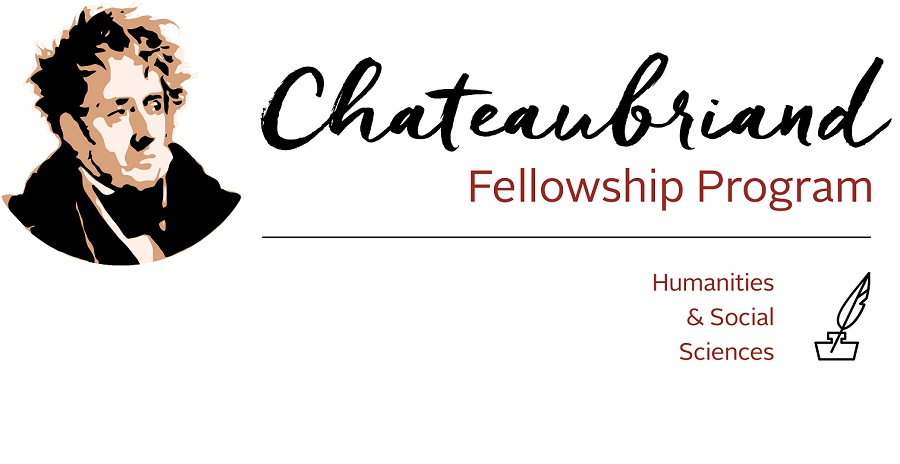 Chateaubriand Fellowship in Science, Technology, Engineering, Mathematics & Health 2020-2021