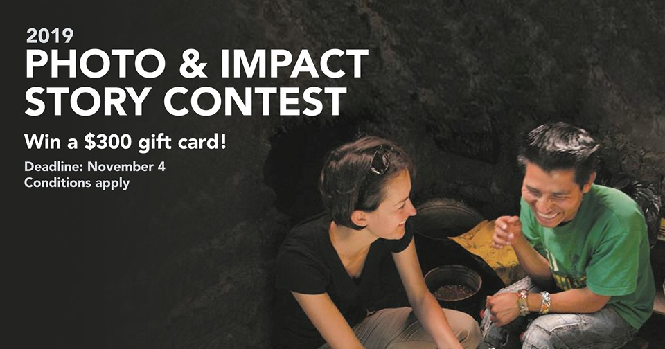 Institute of International Education (IIE) Photo & Impact Story Contest 2019