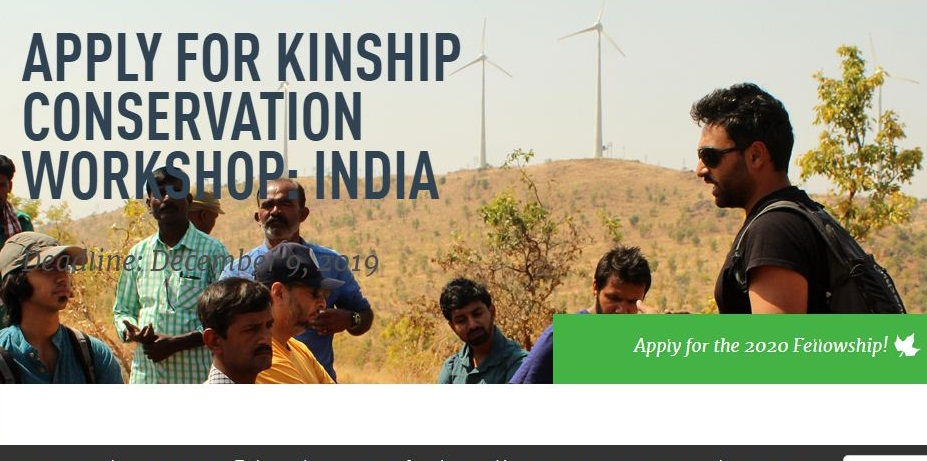 Kinship Conservation Workshop: India 2020 for Indian Conservationists (Funded)