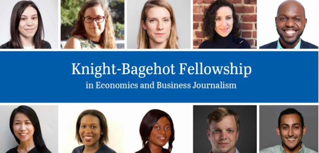 Knight-Bagehot Fellowship in Economics and Business Journalism 2020/2021 (stipend of $60,000)