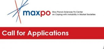 Max Planck Sciences Po Center (MaxPo) Doctoral Fellowship 2020