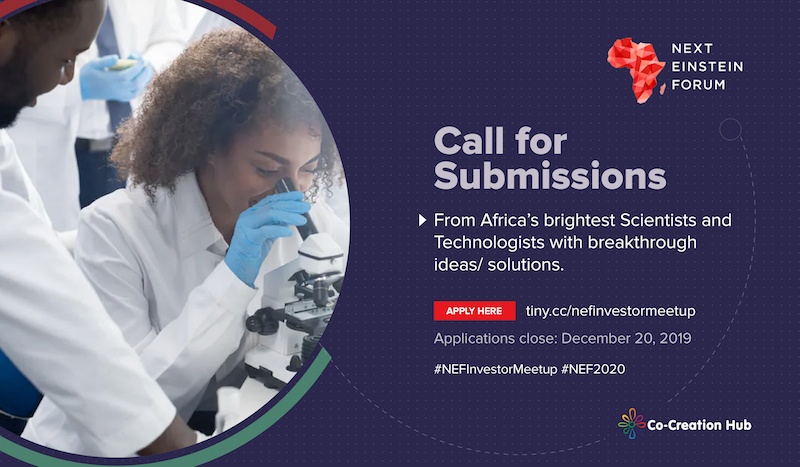 Apply to Pitch for $25,000 at the Next Einstein Forum Innovation Salon in Nairobi