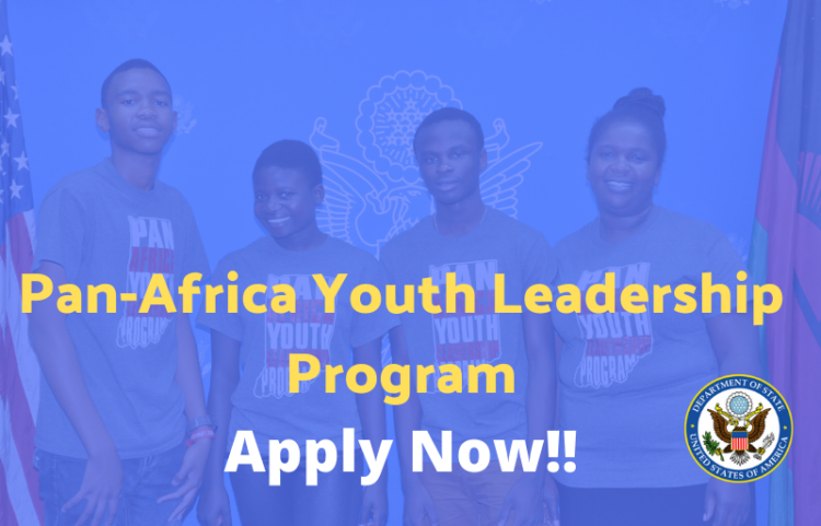 U.S. Embassy in Malawi Pan-Africa Youth Leadership Program (PAYLP) 2020 (Fully-funded)