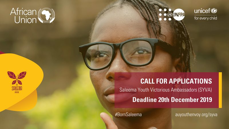 African Union Commission – Saleema Youth Victorious Ambassadors (SYVA) – Call for Applications 2019