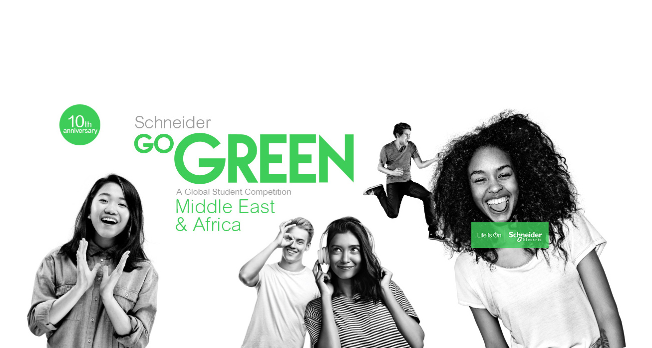 Schneider Go Green 2020 – Global Student Competition for Middle East & Africa (Win the trip of a lifetime to Las Vegas)
