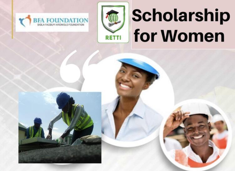 Scholarship for Nigerian Women for Solar PV / Inverter Design and Installation Training 2019