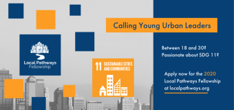 United Nations SDSN Youth Local Pathways Fellowship 2020