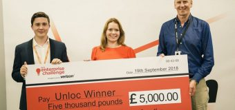 Unloc Enterprise Challenge 2019 for Start-ups in Europe (Funding up to £10,000)