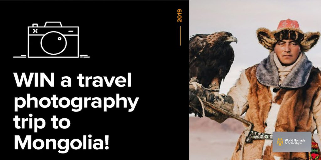 World Nomads Travel Photography Scholarship 2019 for Aspiring Photographers (Win a funded trip to Mongolia)