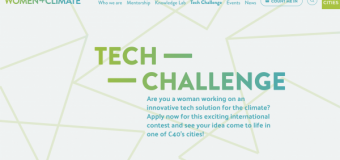 2nd C40 Women4Climate Tech Challenge 2020 (up to $40,000 in funding)
